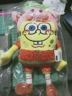 20cm Pig year Spongebob stuffed toy