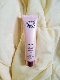 lakme 9to5 cc cream - beige