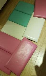 Baby wall cushion safety covering padding
