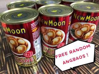 New Moon Abalone Australia 425g (New Batch Exp 2023) + free Ang Bao #newmoon #gift #abalone #cny