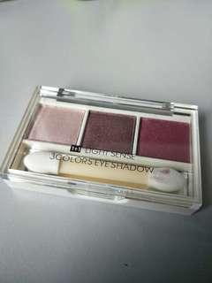 Miniso 3 colour eyeshadow: Lightsense
