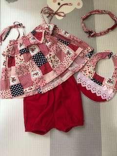 1 set baju baby