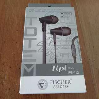 Fischer Audio Tipi FE-112 earphones
