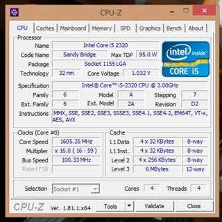 [WTS] Intel Core i5 2320 Socket LGA1155 CPU