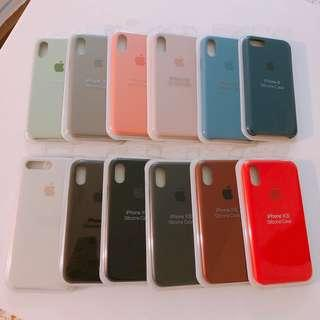 🚚 Instock IPhone X / XS Silicone Colour Cases