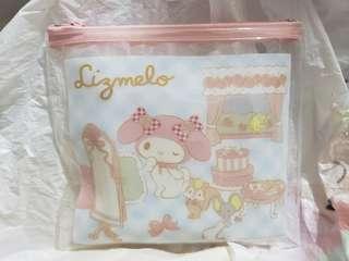 Sanrio melody x liz Lisa 旅行容器套裝