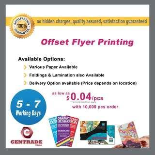 Flyer printing cheap