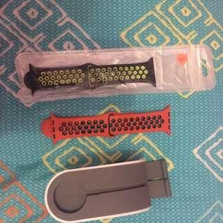 Set Strap Iwatch 3 nike series plus