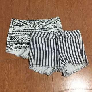 H&m bundle shorts