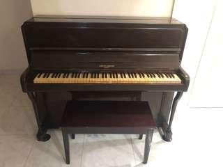 Antique piano VERY RARE BARRHTT ROBINSON LONDON (TOP 10 BRANDS FOR PIANO WORLDWIDE) ESTABLISHED IN 1877,SPECIALLY MADE FOR THE TROPICS !NO HEATER NEEDED! WET-WIPE OF SURFACES IS POSSIBLE ONLY FOR THIS RARE MODEL!