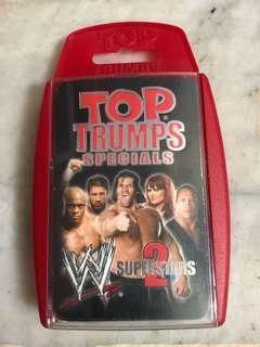 Top Trump Specials WWF superstars