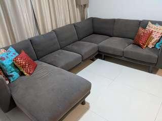 IKEA Fabric Sofa
