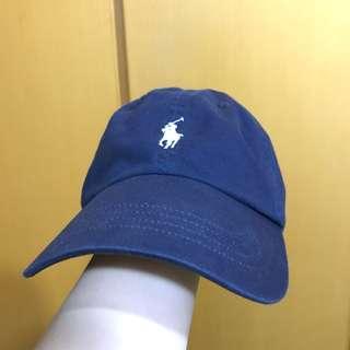 POLO 藍色Cap帽 可調教