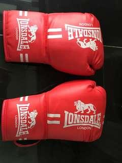 Lonsdale Red Boxing Gloves Female Size