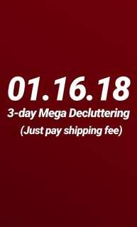 3-DAY FREE ITEMS