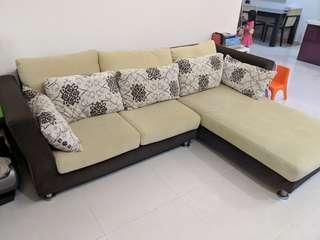 Fabric Sofa, 7 year old