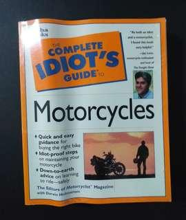 BOOK - The Complete Idiot's Guide to Motorcyles