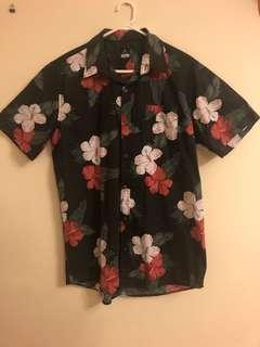 Rip curl short sleeve button up