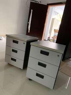 Cabinet drawer office 3 layer key table cabinet