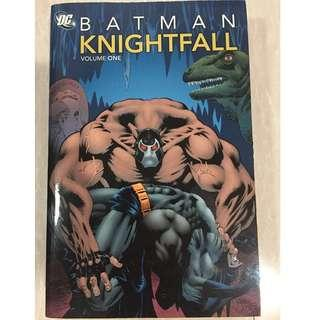 Batman: Knightfall Vol. 1 Comic Book (Paperback)