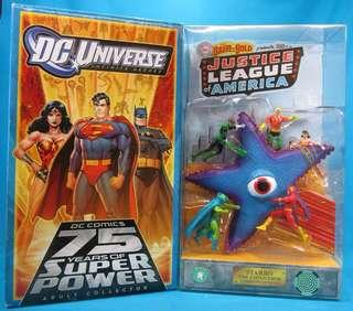 DCU JLA Starro 2010 SDCC Exclusive (with sounds and lightings)
