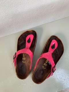 Authentic Birkenstock authentic gizeh eva pink
