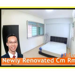Newly Renovated Common Rooms for Rent x 02 in the Same Unit! <<666 Woodlands Ring Rd>>>
