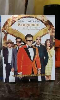 US Original Kingsman The Golden Circle DVD Disc only