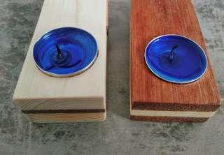 tempat lilin dan korek api lilin aromaterapi candle tea