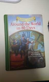 Around the world in 80 days(Hard cover)