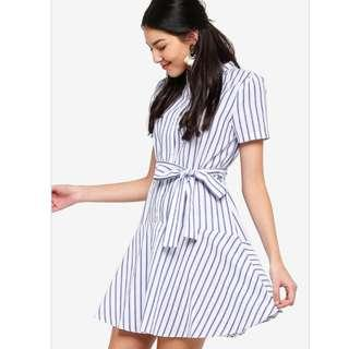Zalora Drop Waist Dress