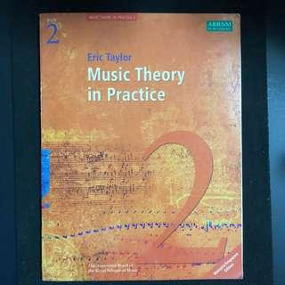Music Book ABRSM Grade 2 Music Theory in Practice