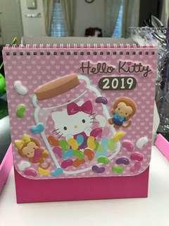 Hello Kitty calendar 2019