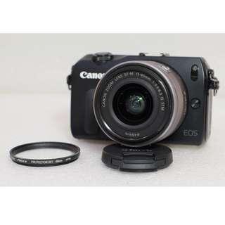Canon EOS M Kit 15-45mm IS STM Black Mulus