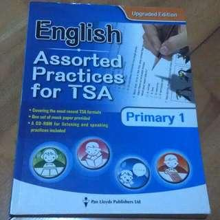 English Assorted Practices for TSA   Primary 1