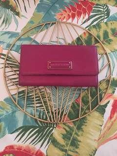 SALE🌟MARC BY MARC JACOBS red wine colour long wallet