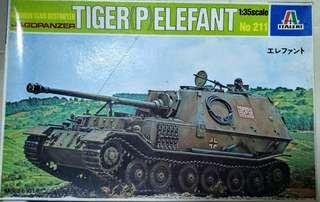 Jagdpanzer Tiger (P) Elefant 1/35