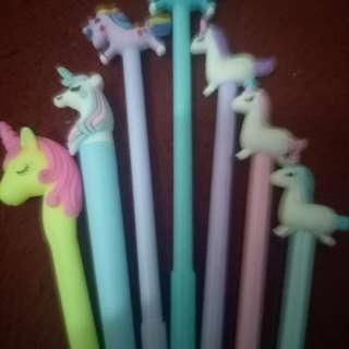#bersihbersih pulpen unicorn