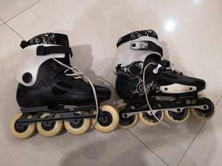 Roller Blades + Protective Guards