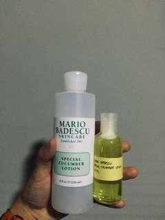 MARIO BADESCU SPECIAL CUCUMBER LOTION (share in jar 60ml)