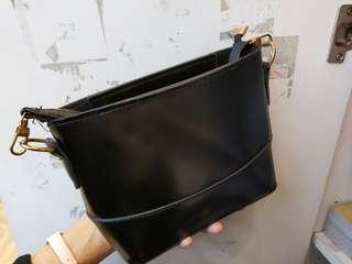 [wts] black korea sling bag