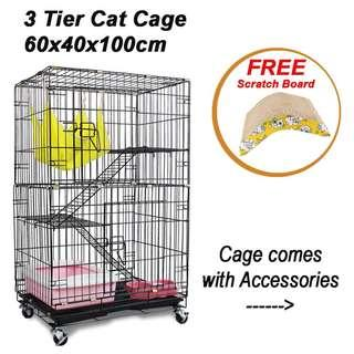 Kitten/Cat 3 Tier with accessories (4tier/2tier/bowl/bed/carrier/sets/starter kit)