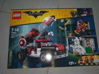 Lego batman built