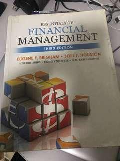 Essentials of Financial Managemeny