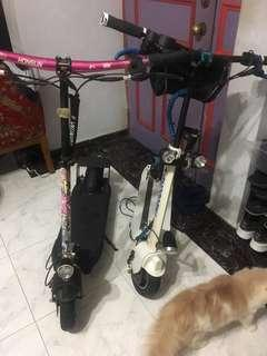 Escooter (post on behalf) each $200