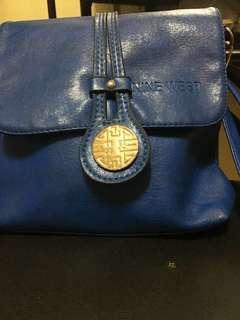 Blue small sling bag - Nine West