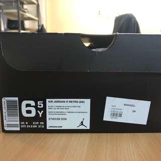 02b01aba547c3a Gamma blue Air Jordan 11 GS