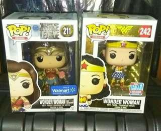 [SALE] (ON HAND) Wonder Woman with Motherbox Justice League & WW 1st Appearance DC Funko Pop Bundle