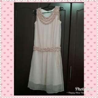 Pastel Pink Cocktail Dress