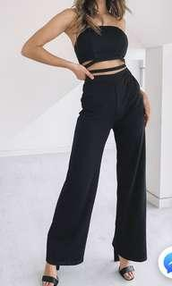 Beginning Boutique Black Jumpsuit